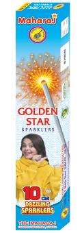 10cm Golden Star