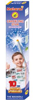 10cm Crackling Star Sparklers