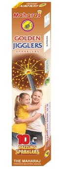 10cm Golden Jiggler Sparklers