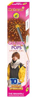 10cm Golden Pops