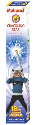 12cm Crackling Star Sparklers