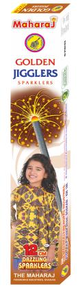 12cm Golden Jiggler Sparklers