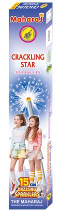 15cm Crackling Star Sparklers