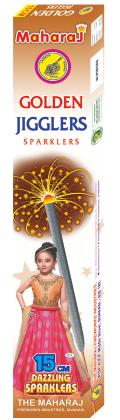 15cm Golden Jiggler Sparklers