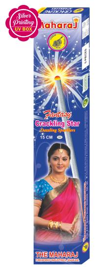 15cm Crackling Star Fantasy Sparklers