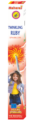 30cm Twinkling Ruby Sparklers