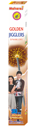 30cm Golden Jiggler Sparklers