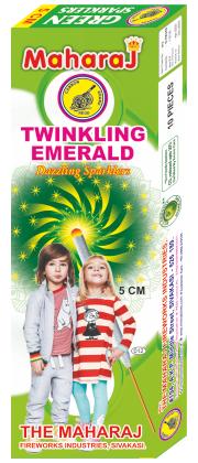 5cm Twinkling Emerald