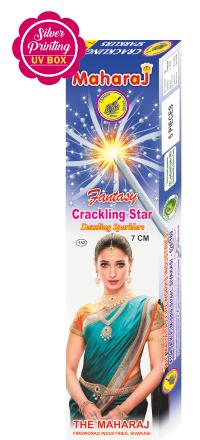 7cm Crackling Star Fantasy Sparklers