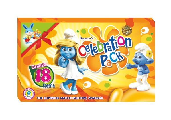 Orange Celebration Pack