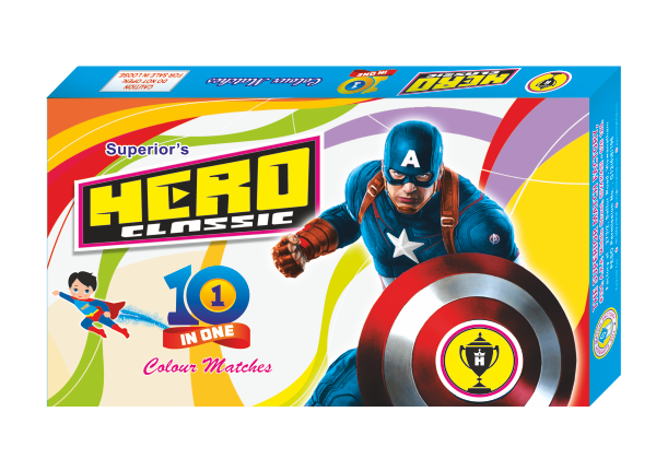 hero Classic colour matches