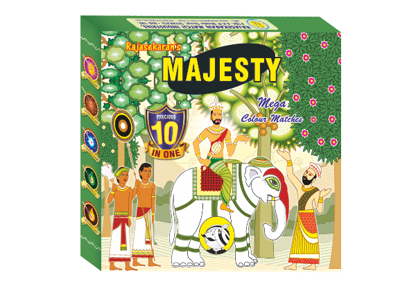 Majesty Mega colour matche