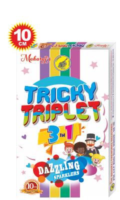 Tricky Triplet 10cm