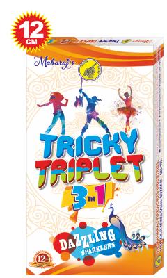 Tricky Triplet 12cm