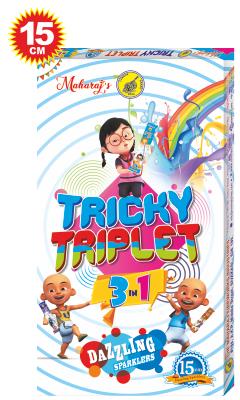 Tricky Triplet 15cm