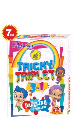 Tricky Triplet 7cm